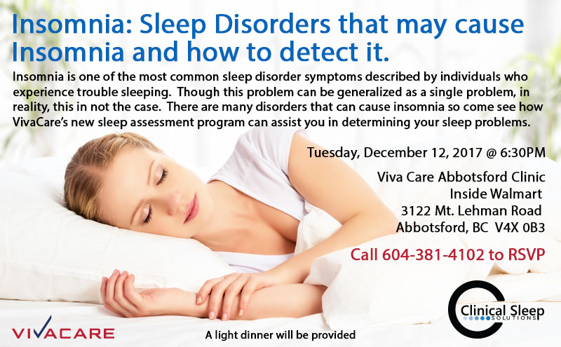 Insomnia:  Sleep Disorders That May Cause Insomnia And How To Detect It.