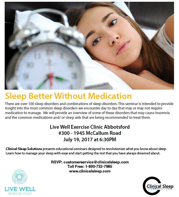 Sleep Better Without Medication