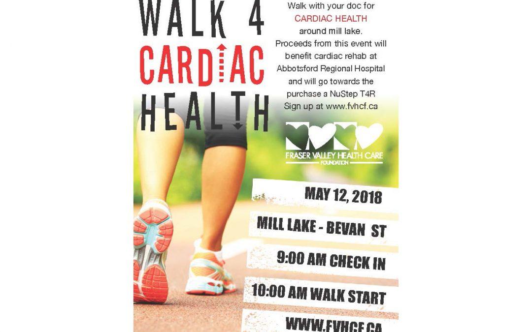 Walk 4 Cardiac Health Fundrasier