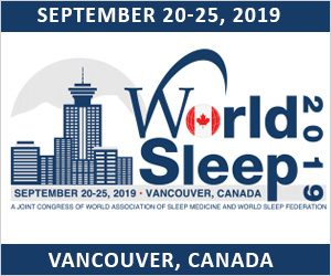 September 20-25, 2019: World Sleep 2019