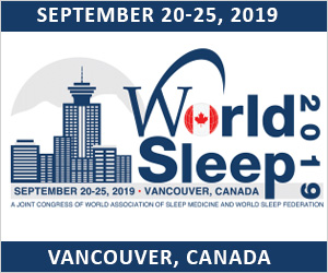 September 20-25, 2019: World Sleep 2019