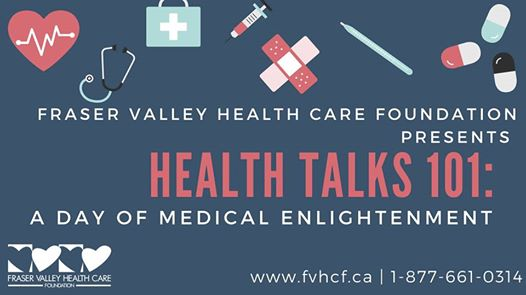 September 28, 2019: Health Talks 101 – A Day of Medical Enlightenment